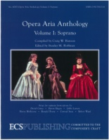 Opera Aria Anthology Volume 1 Soprano ECS6000 (ECS6000)