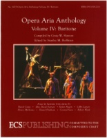 Opera Aria Anthology Volume 4 Baritone ECS6003 (ECS6003)