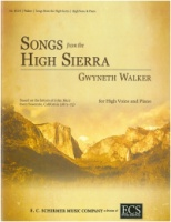 Songs from the High Sierra by Gwyneth Walker (High Voice) (ECS8318)