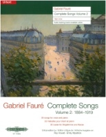 Complete Songs Volume 2 (1884-1919) High Voice (EP11392a)