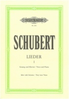 Schubert Lieder Volume 1 Sehr tiefe Stimme (Very Low Voice) EP20d (EP20d)