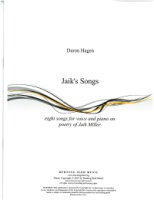 Jaik's Songs by Daron Hagen (Hagen 8)