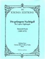 Die gefangene Nachtigall - The Captive Nightingale (5071) (ISMN 979-0-9009609-2)