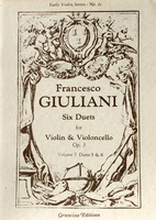 Six Duets for Violin and Violoncello, Op. 3, Vol. 3 (VLN2c)